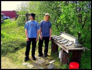 Mikael ja Juuso Tenolla 2008